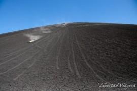 A escalar volcanes se dijo